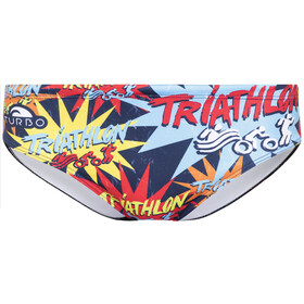 Turbo Triathlon New Star Costume a pantaloncino Uomo colorato